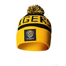 Richmond Tigers Bar Beanie OSFA, , rebel_hi-res