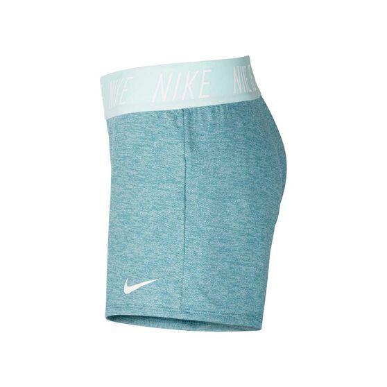 Nike Trophy Girls Training Shorts, Teal, rebel_hi-res