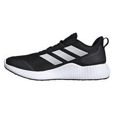 adidas Edge Gameday Mens Running Shoes Black/White US 7, Black/White, rebel_hi-res