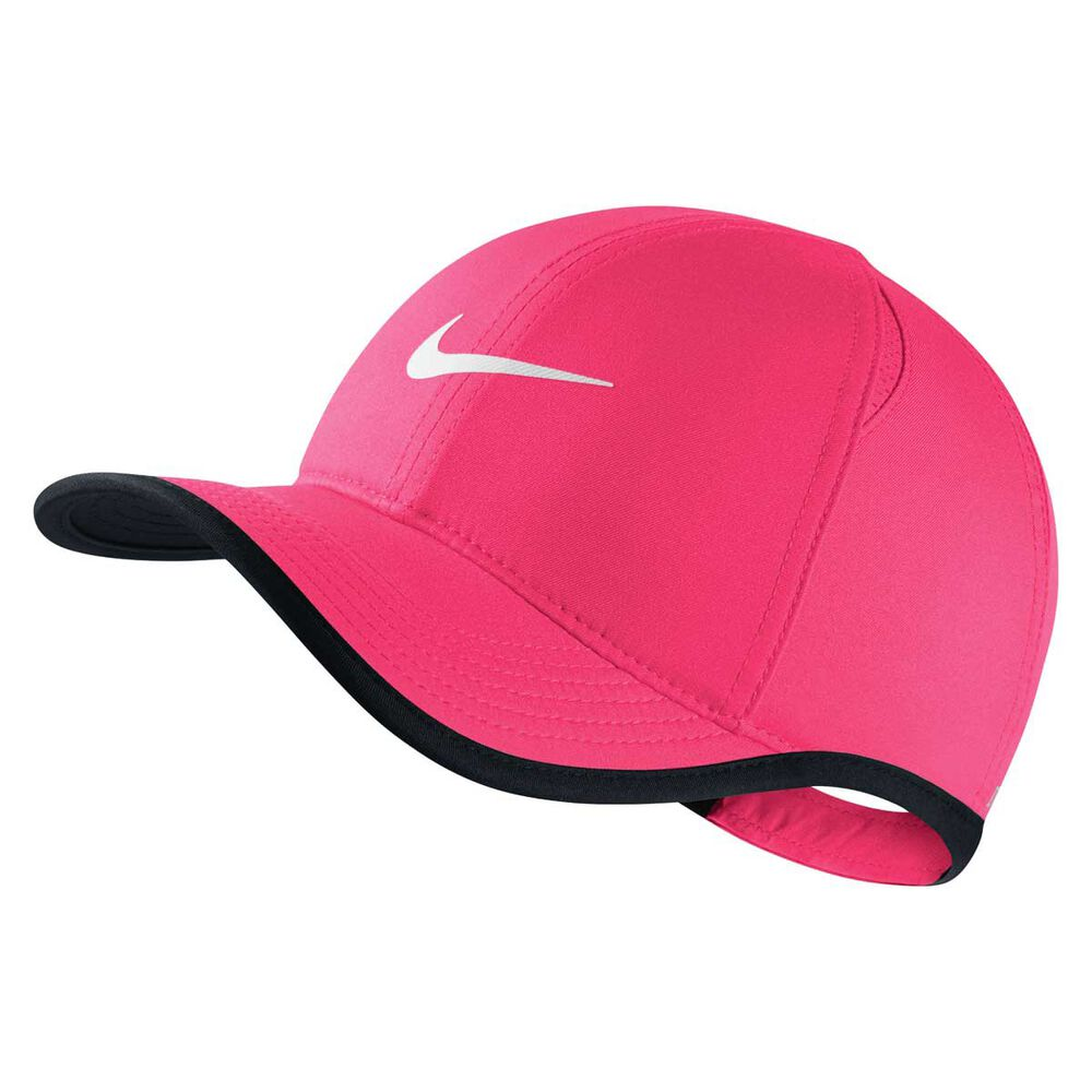 Nike Girls AeroBill Featherlight Cap Pink   Black OSFA  7f19e23d10d