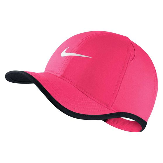 Nike Girls AeroBill Featherlight Cap Pink / Black OSFA, , rebel_hi-res