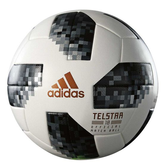 adidas Telstar 2018 Official Match Ball White   Black 5  fa3a949f98