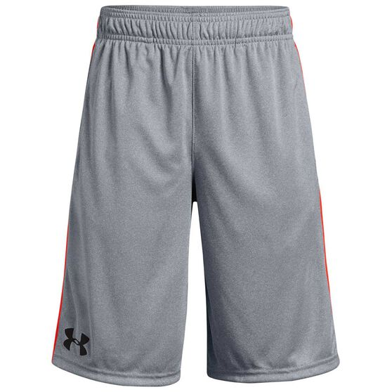 Under Armour Boys Stunt Shorts, Grey, rebel_hi-res