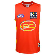 Gold Coast Suns 2020 Mens Home Guernsey Red S, Red, rebel_hi-res