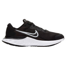 Nike Renew Run 2 Kids Running Shoes, Black/White, rebel_hi-res