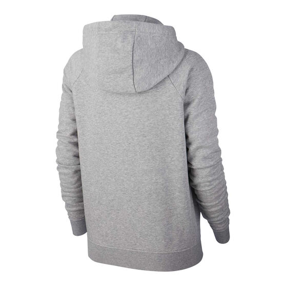 Nike Womens Sportswear Essentials Full Zip Hoodie, Grey, rebel_hi-res