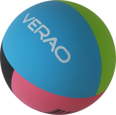 Verao Multi Colour High Bounce Ball, , rebel_hi-res