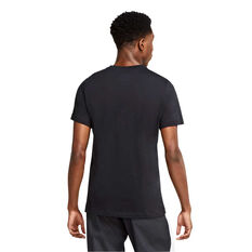 Nike Mens Sportswear Just Do it Tee Black XS, Black, rebel_hi-res
