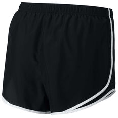 Nike Womens Tempo Running Shorts Plus Black / White XL, Black / White, rebel_hi-res