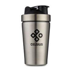Celsius 600ml Stainless Steel Shaker Bottle, , rebel_hi-res
