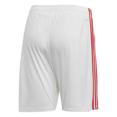 Manchester United 2019/20 Mens Home Shorts Red S, Red, rebel_hi-res