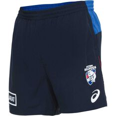 Western Bulldogs 2018 Mens Training Gym Shorts, , rebel_hi-res