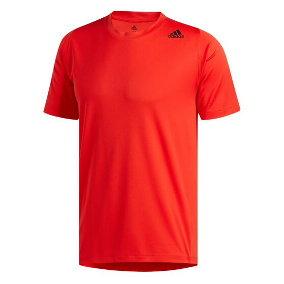 adidas Mens FreeLift Sport Fitted 3-Stripes Training Tee, , rebel_hi-res