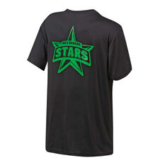 Melbourne Stars 2019 Mens Graphic Tee Black S, Black, rebel_hi-res