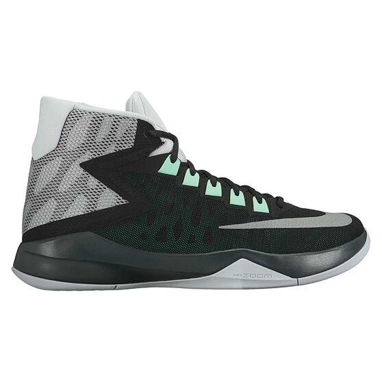 cf16553b0e96 Nike Zoom Devosion Mens Basketball Shoes Black   Grey US 11