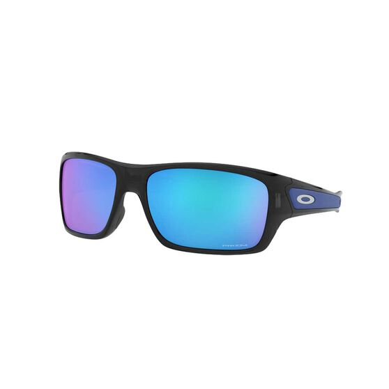 Oakley Turbine™ Sunglasses Black Ink / Prizm Sapphire, Black Ink / Prizm Sapphire, rebel_hi-res
