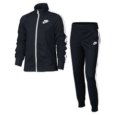 Nike Girls Sportswear Tracksuit Black XS, Black, rebel_hi-res