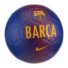 Nike Prestige FC Barcelona Soccer Ball Blue / Red 5, Blue / Red, rebel_hi-res