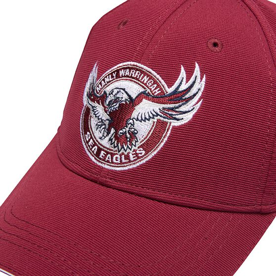 Manly Warringah Sea Eagles 2017 Media Cap OSFA, , rebel_hi-res