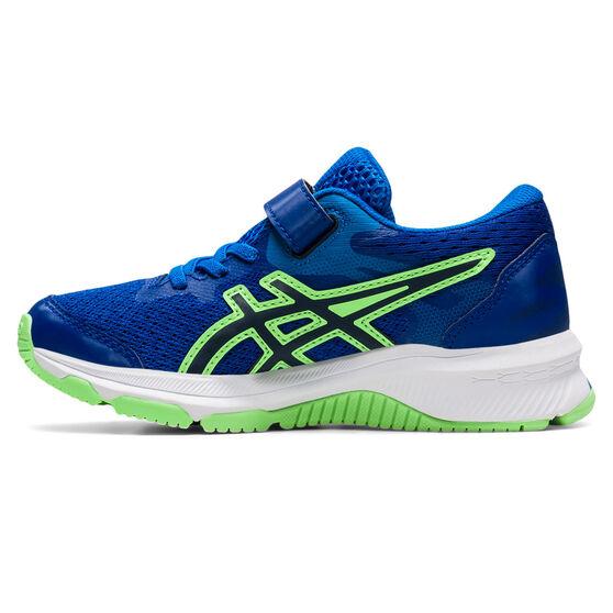 Asics GT 1000 10 Kids Running Shoes, Blue/White, rebel_hi-res