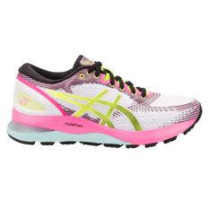83abf4aa03 Asics GEL Nimbus 21 Womens Running Shoes White / Blue US 6, White / Blue