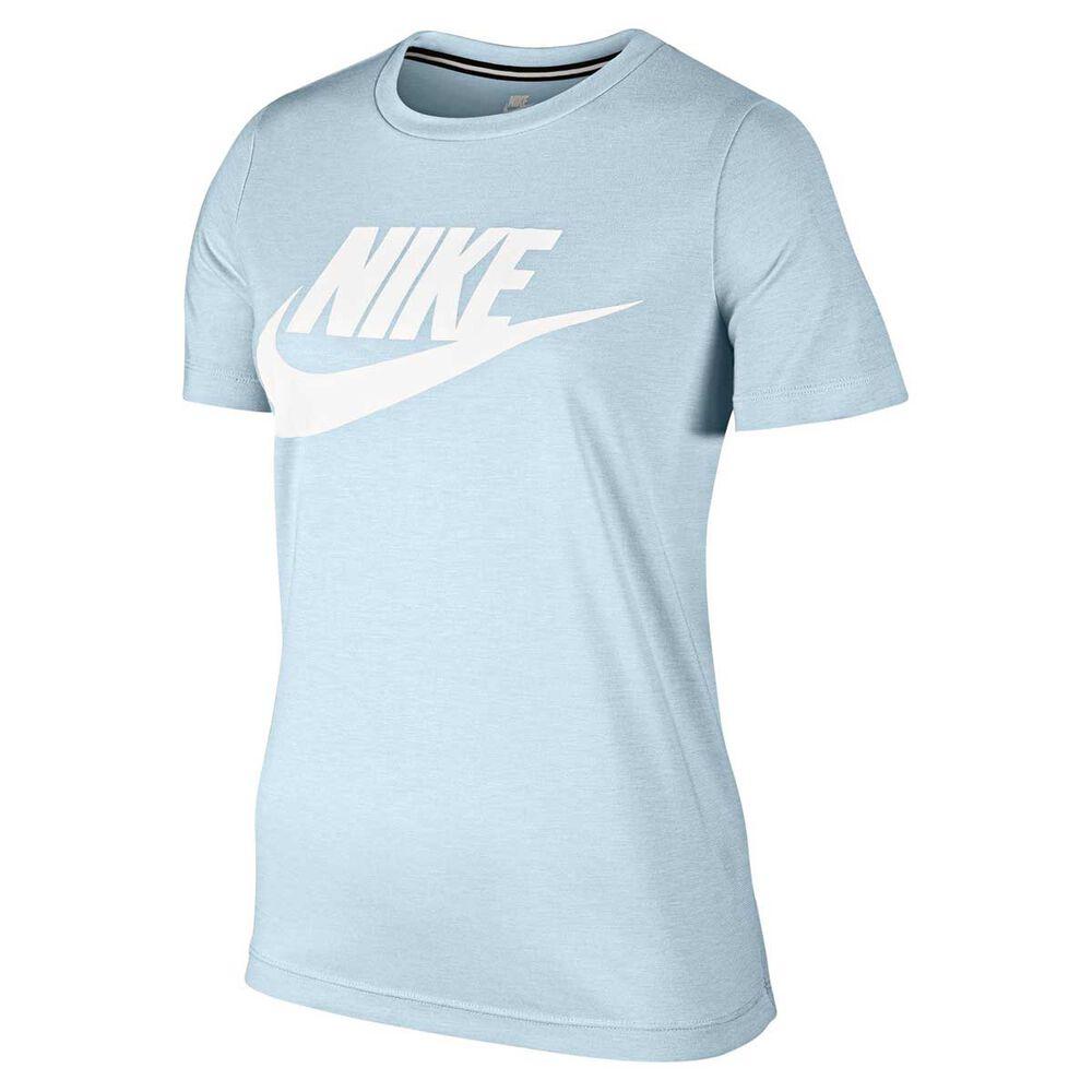 292fed6d108e Nike Womens Sportswear Essential Tee Blue   White XL Adult