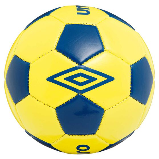 Umbro Speciali Supporter Mini Soccer Ball Yellow / Blue 3, , rebel_hi-res
