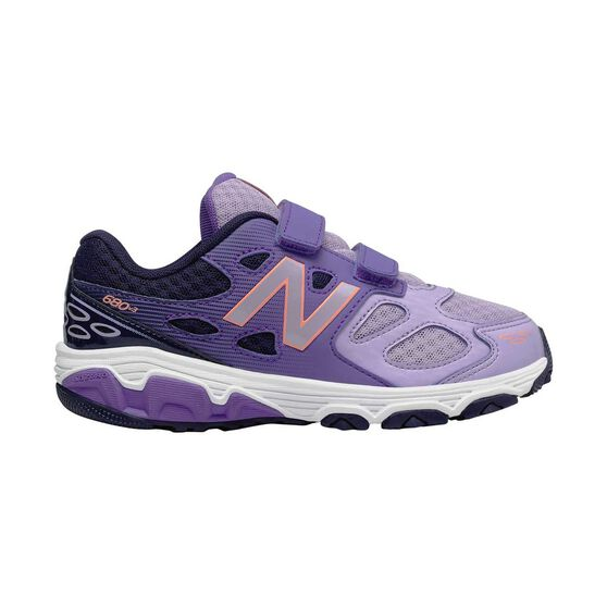 63a73e3f7f47 New Balance 680v3 Junior Girls Running Shoes