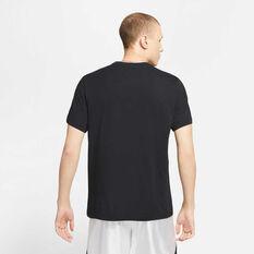 Nike Mens Dri-FIT LeBron Logo Basketball Tee Black S, Black, rebel_hi-res