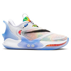 Nike Adapt Basketball 2.0 Mens Basketball Shoes White/Black US 7, White/Black, rebel_hi-res