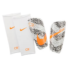Nike Mercurial Lite CR7 Shin Guards White S, White, rebel_hi-res