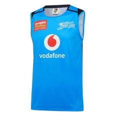 Adelaide Strikers 2019/20 Mens Training Singlet Blue S, Blue, rebel_hi-res