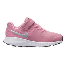Nike Star Runner Junior Girls Running Shoes Pink / White US 11, Pink / White, rebel_hi-res