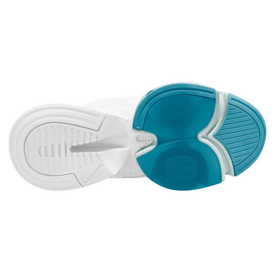 Nike Air Zoom SuperRep Womens Training Shoes, White / Silver, rebel_hi-res