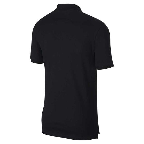 Nike Mens Heritage Polo, Black, rebel_hi-res