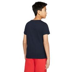 Nike Boys Sportswear Tee, Blue, rebel_hi-res