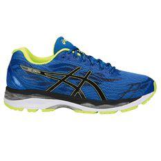 Asics Gel Ziruss Mens Running Shoes Blue / Black US 7, Blue / Black, rebel_hi-res