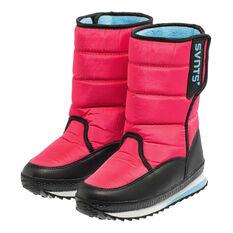 SVNT5 Girls Pace Boots Pink / Aqua US 1, Pink / Aqua, rebel_hi-res