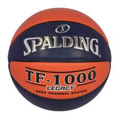 ... Spalding TF-1000 Big V Basketball Orange   Navy 6 0f2b55cc4013c