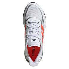 adidas Supernova+ Womens Running Shoes, White/Red, rebel_hi-res