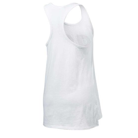 Running Bare Womens Free Spirit Tank, White, rebel_hi-res