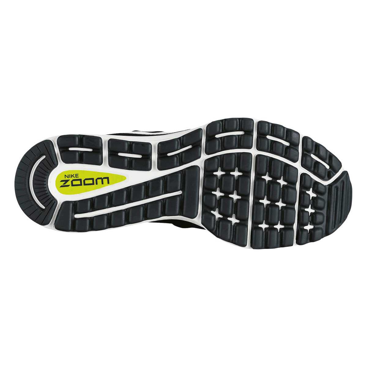 Nike Air Zoom Vomero 12 Mens Running Shoes Black White US 8