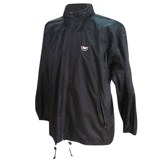 Team Stolite Explorer Wet Weather Jacket, Black, rebel_hi-res