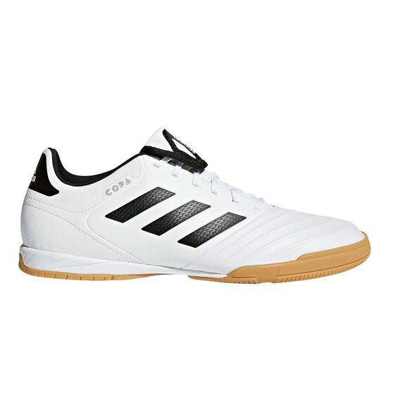 buy online 8bc14 fe0da adidas Copa Tango 18.3 Mens Indoor Soccer Shoes White   Black US 7.5 Adult,  White