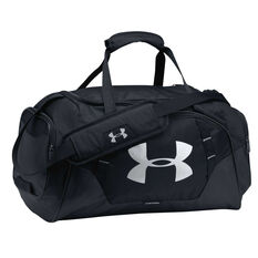 Under Armour Undeniable 3.0 Large Duffel Bag Black / Silver, , rebel_hi-res