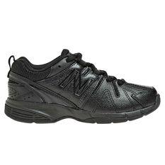 New Balance KCrossT625BY Boys Cross Training Shoes Black / Black US 11, Black / Black, rebel_hi-res