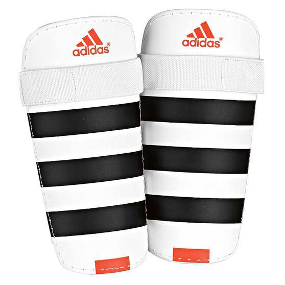 Adidas Everlite Shin Guards, White / Black, rebel_hi-res