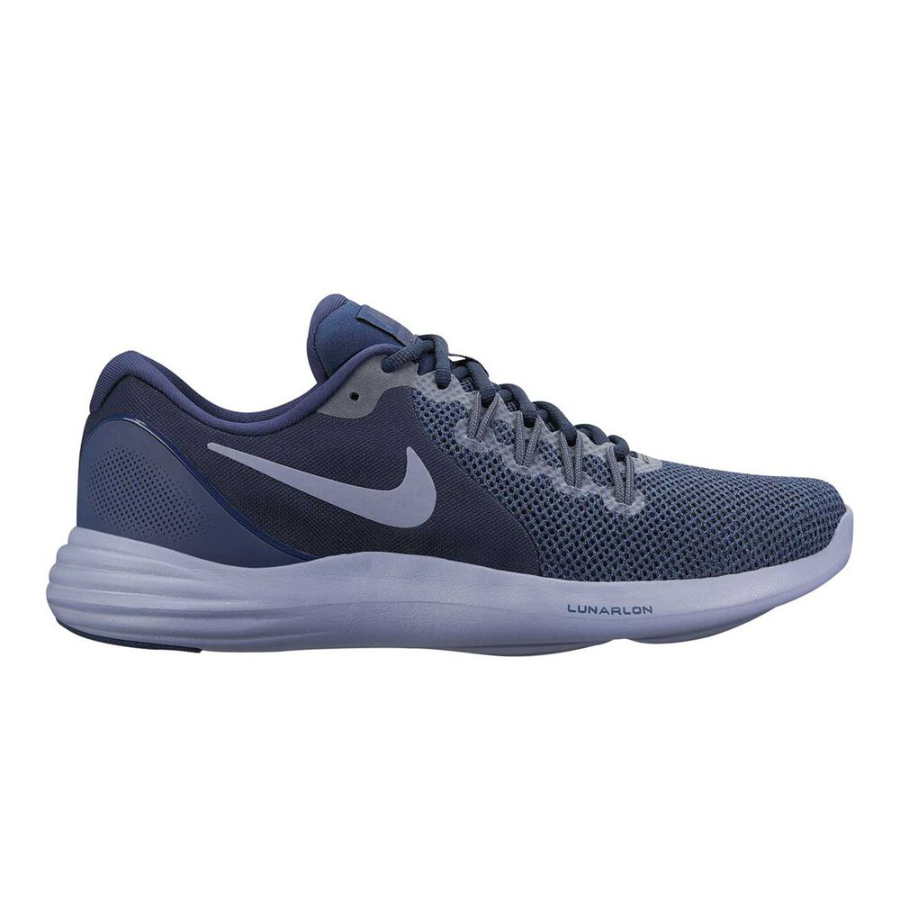 watch fc1af b44ab Nike Lunar Apparent Mens Running Shoes Black   Blue US 11.5, Black   Blue,