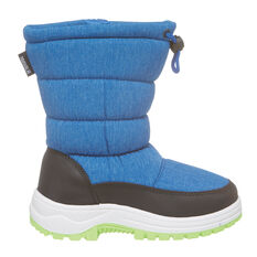 Tahwalhi Wizard Kids Snow Boots Blue 11, Blue, rebel_hi-res