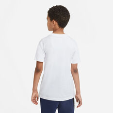 Nike Boys Futura Icon Tee, White, rebel_hi-res
